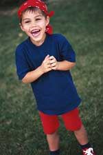 Laughing Boy with Red Bandana