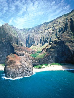 Hawaii_Island Cliffs