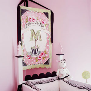 "crib ""headboard"" painting"
