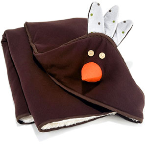 3 Sprouts? Chico organic hooded towel