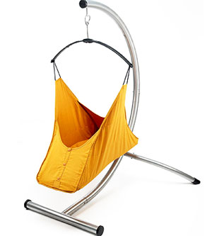13 Best Bouncy Seats and Chairs: Soft Swing :  hammock infant orange baby