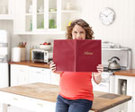 Pregnant Woman and Menu