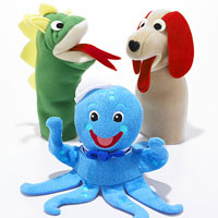 Baby Einstein puppets