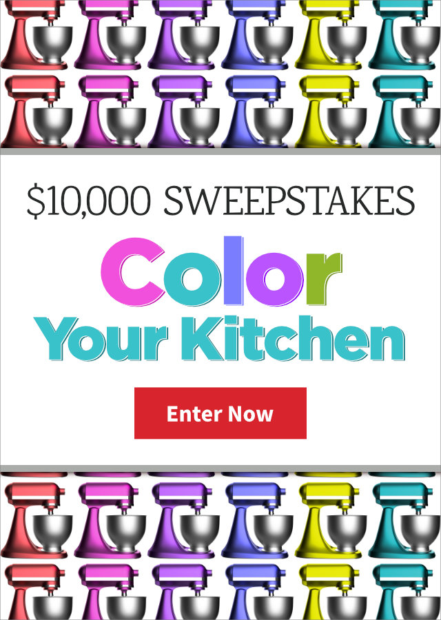 Color Your Kitchen 10,000 Sweepstakes