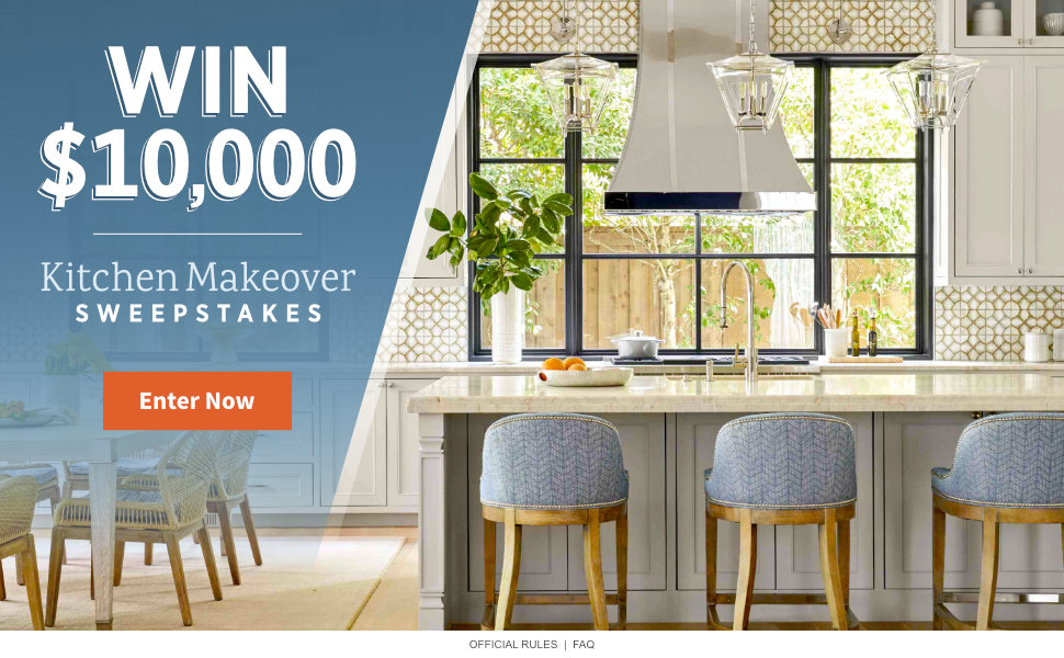 Kitchen Makeover $10,000 Sweepstakes