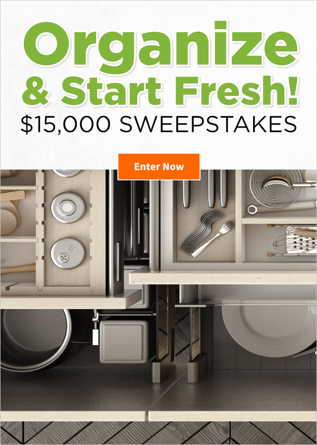 Organize & Start Fresh $15,000 Sweepstakes