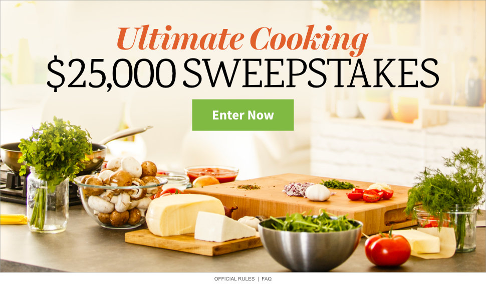 Ultimate Cooking $25,000 Sweepstakes