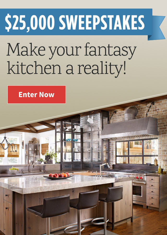 Fantasy Kitchen $25,000 Sweepstakes