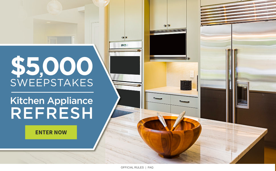 Kitchen Appliance Refresh $5,000 Sweepstakes