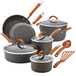 Rachael Ray 12-Pc. Cookware Set