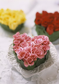 Keepsake Rose Hearts