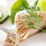 Poached Salmon