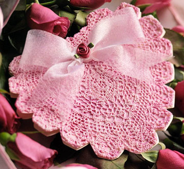Christmas Amaryllis Doily - Crochet Patterns, Free Crochet Pattern