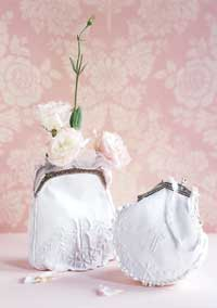 Monogrammed Wedding Purse
