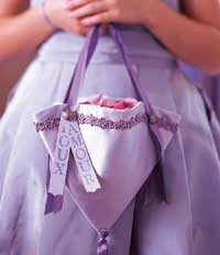 Flower Girl's Satin Purse
