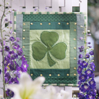 Shamrock Wall Quilt