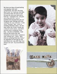 Days with You - scrapbook page