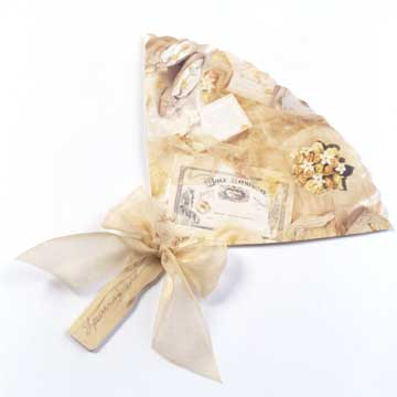 Victorian Fan Wedding Favor