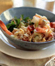 Clam and Shrimp Risotto