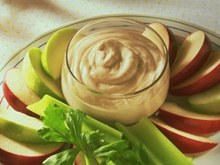 Cottage Cheese and Apple Snacks
