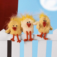 charming chick puppets