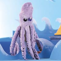 Eight is enough octopus puppet