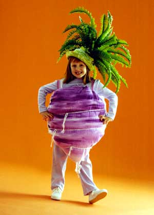 Turnip Costume