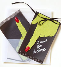 Bewitching Invites and Envelope