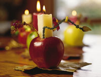 All-Aglow Apples