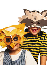 How to Make Halloween Masks with Construction Paper | eHow.com
