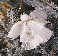 angel as a tree decoration