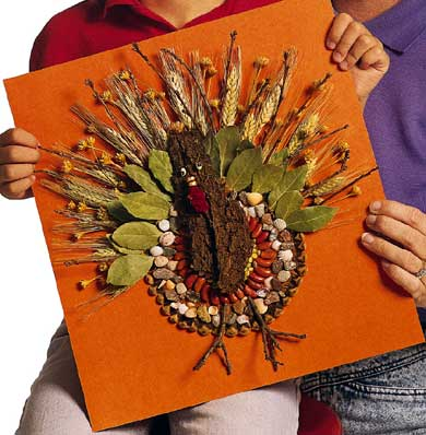 Turkey Craft Ideas Kindergarten on Wild Turkeys Are Making A Comeback  In The 1930 S They Had Become