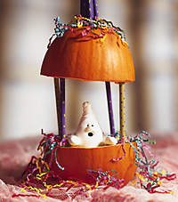 spooky surprise kid's party centerpiece