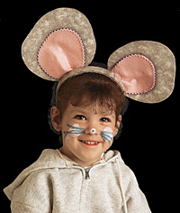 Look-at-me Mouse Costume