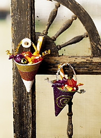 Halloween Cone Candy Holders