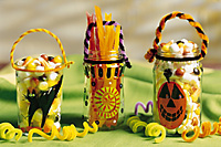 Halloween Candy Jars from