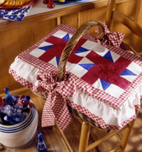Picnic Basket Cover