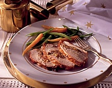 Apricot Stuffed Turkey Breast