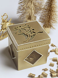Gilded Potpourri Box