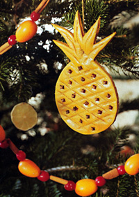 Pineapple Tree Ornament