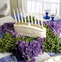 Menorah Centerpiece