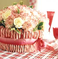 Candy Can Floral Centerpiece