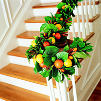 Fruit On Banister