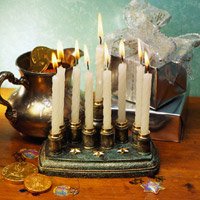 Handmade Menorah