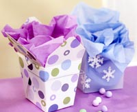 Garnished Gift Boxes