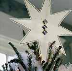 8 Point Star Tree Topper M_12758815