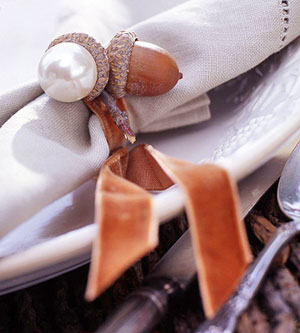 Acorn Napkin Ring