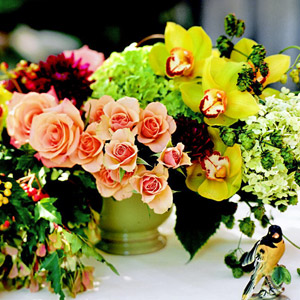 Floral Wedding Centerpieces