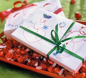 Childrens Drawings Wrapping Paper
