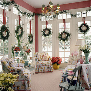 christmas home interior decor ideas - Interior Christmas Decorating Ideas